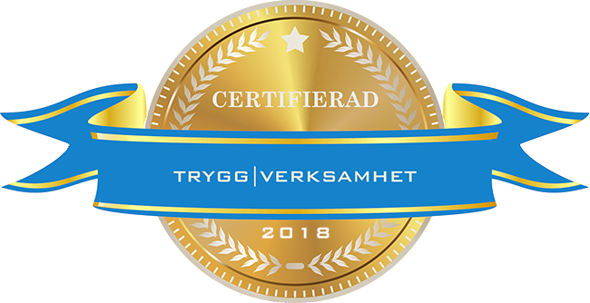 TRYGG VERKSAMHET
